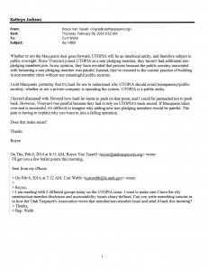 Email between UTA and Curt Webb on HB60